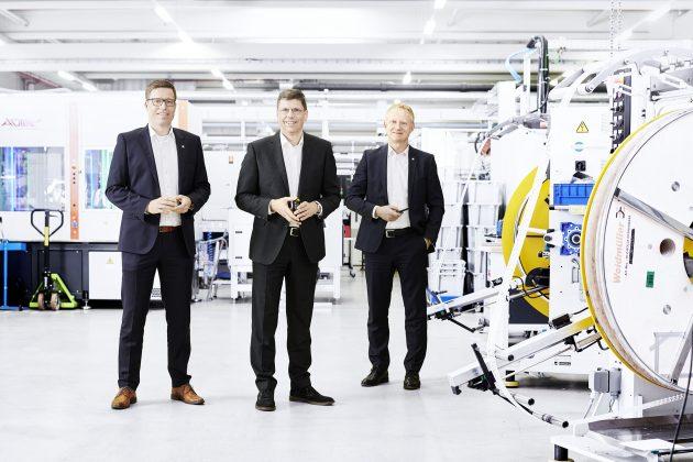 Der Vorstand der Weidmüller Gruppe blickt insgesamt auf ein herausforderndes Jahr 2020 zurück und ist für 2021 zuversichtlich gestimmt. (Bild: Weidmüller Gruppe)