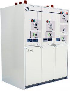 Die neue SF6-freie Schaltanlage aus dem ökoeffizienten Schaltanlagenportfolio von ABB. (Bild: ABB Stotz-Kontakt GmbH)
