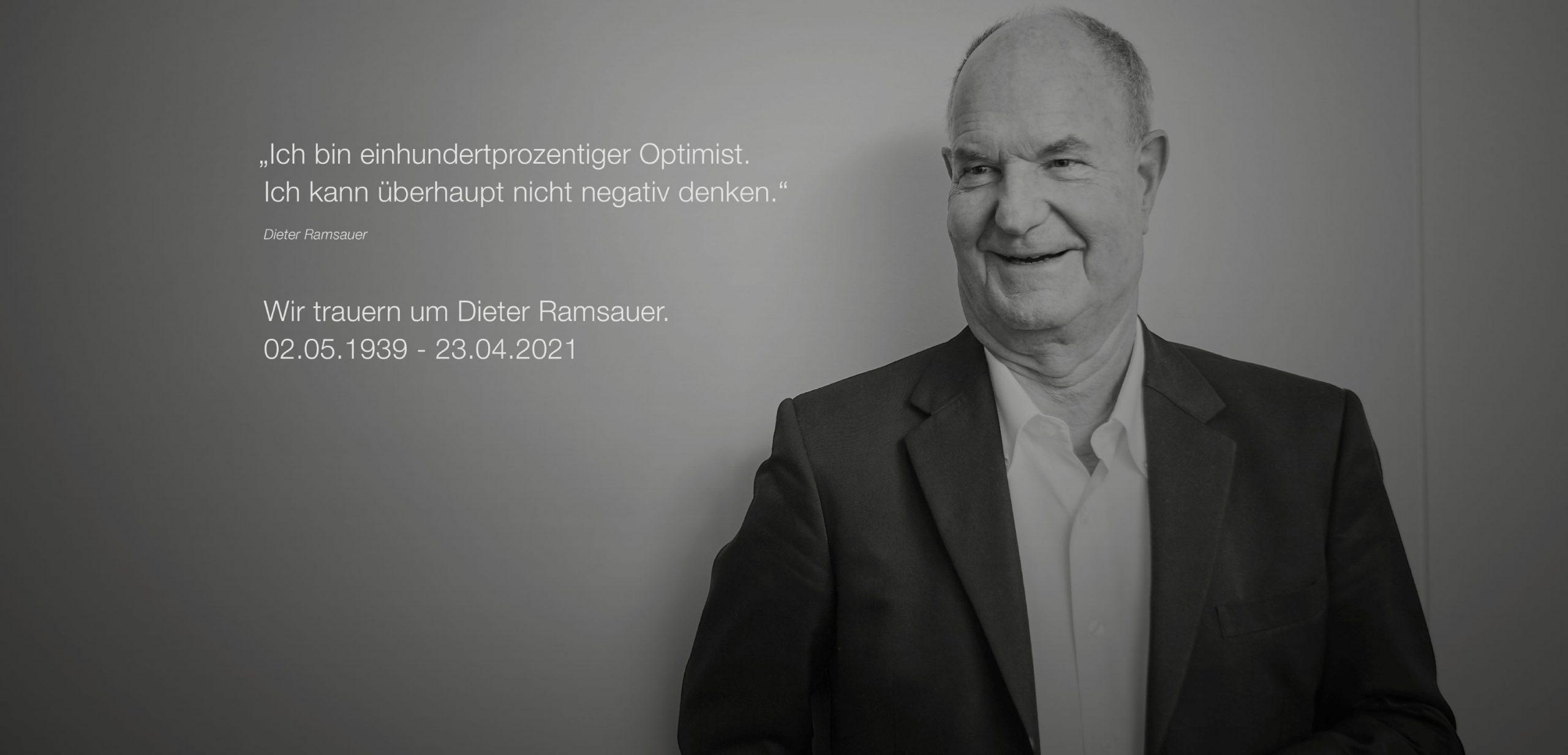Firmengründer von Dirak verstorben