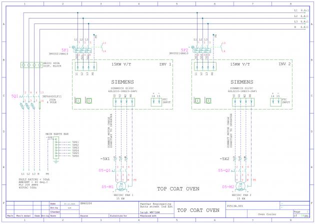 Bild 1 I Die Makros aus der WSCAD-Software beschleunigen die Erstellung elektrischer Schaltpläne erheblich.