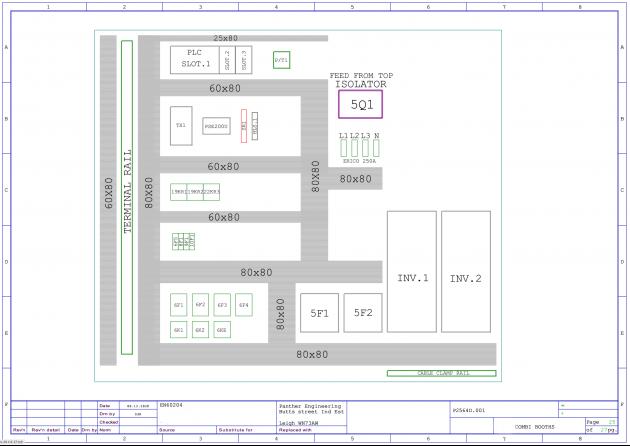 Bild 2 I Cabinet-Layouts lassen sich mit WSCAD einfach erstellen und Schaltpläne  aus anderen elektrischen CAD-Systemen können importiert werden.