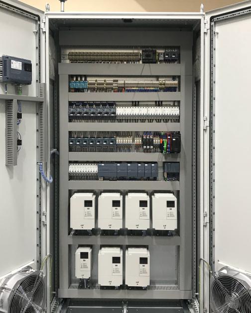 Bild 3 I Cabinet-Layouts mit allen Fertigungsdaten für die anschließende Produktion werden ohne zusätzliche Lizenzkosten mit dem Modul Cabinet Engineering Expert von WSCAD generiert.