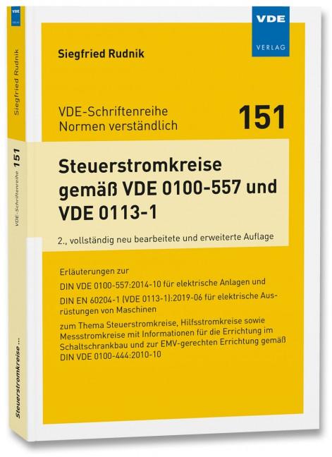 Steuerstromkreise gemäß VDE0100-557/VDE0113-1