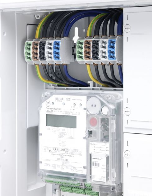 Bild 1: Die Hauptleitungsabzweigklemmen der Serie WPD erfüllen die DIN VDE0603-3-1.