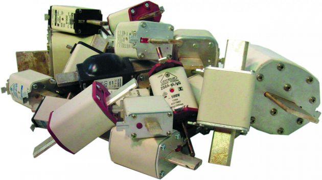 Bild 2 | Ca. 200 Tonnen gebrauchte Schmelzsicherungen wandern immer noch in den Müll.