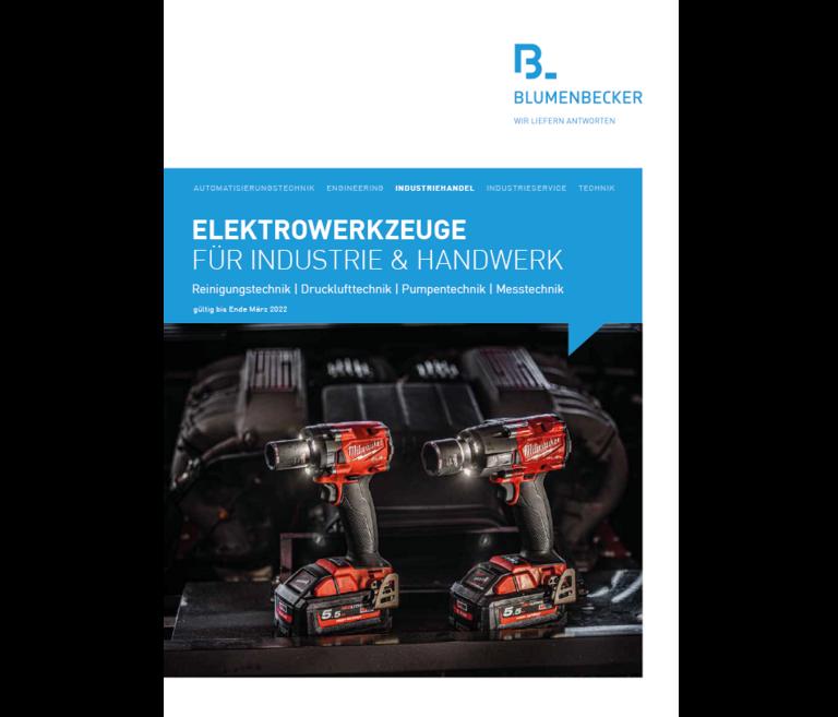 Elektrowerkzeuge Katalog 2021/22