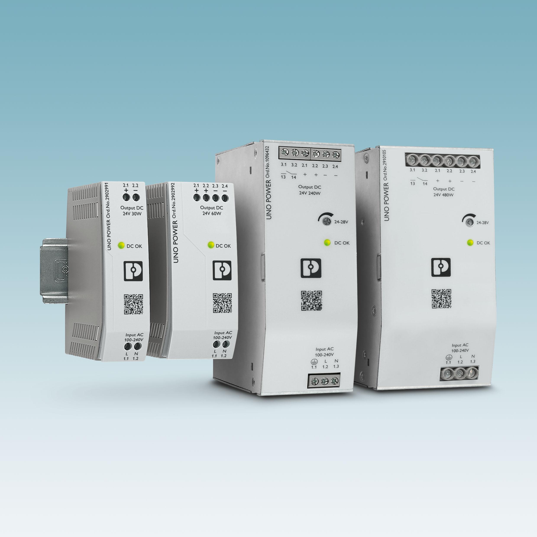 Platzsparende Stromversorgungen