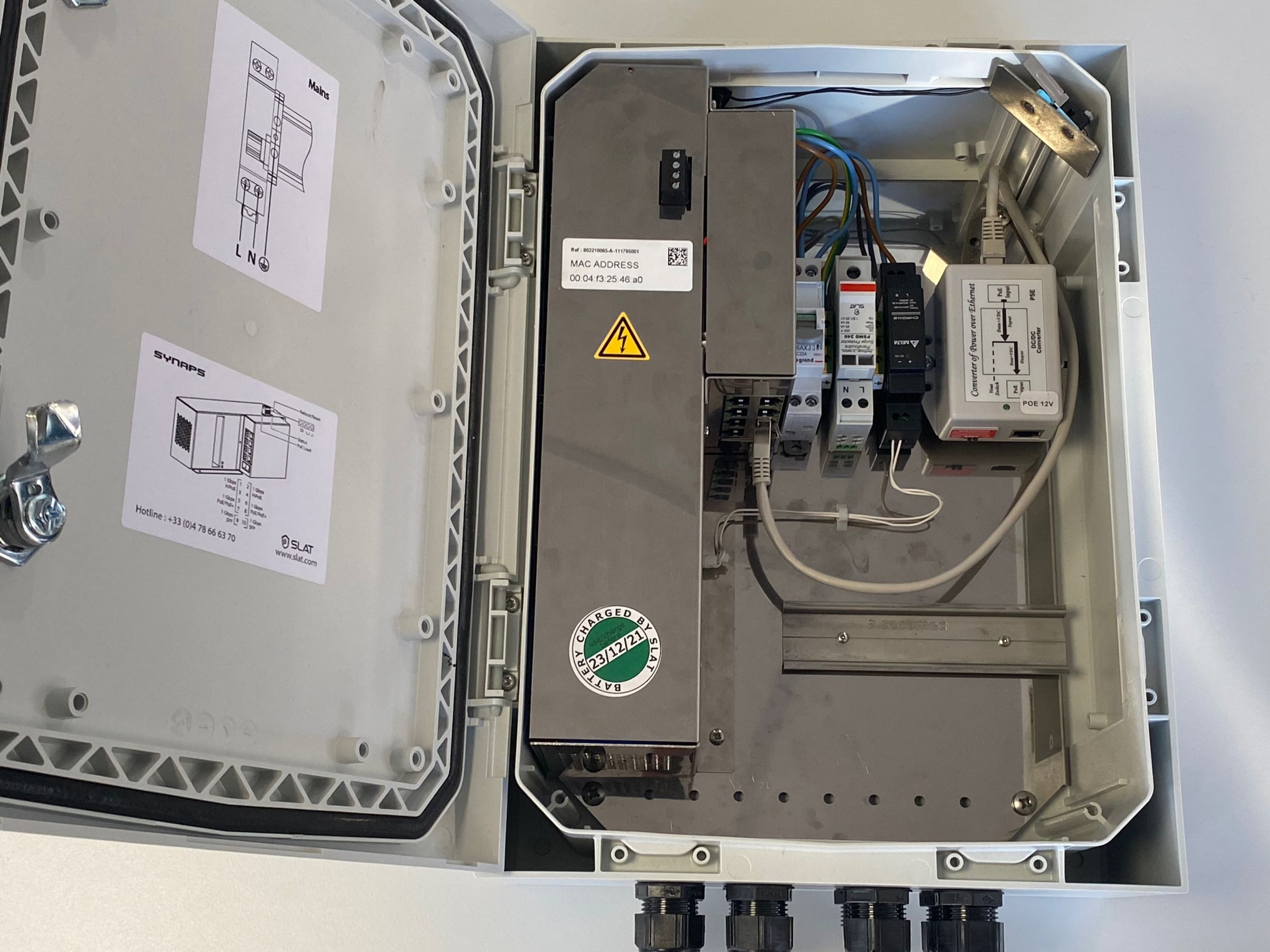 Switch integriert