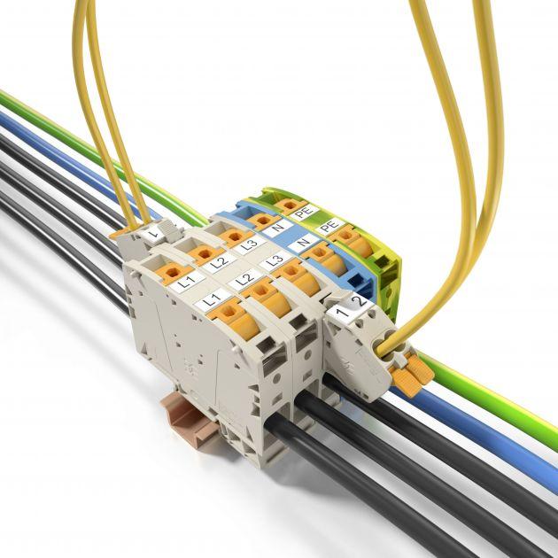 Bild 2   Ein einheitlicher Zusatzanschluss für die Querschnittsgrößen von 50 bis 185mm² ermöglicht einen gesonderten Spannungsabgriff.
