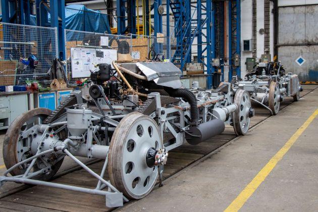 Bild 2 I Ein Hybridgetriebe zusammen mit leistungsstarken Motoren und einem geringen Gewicht ermöglichte eine sehr dynamische Fahrt.