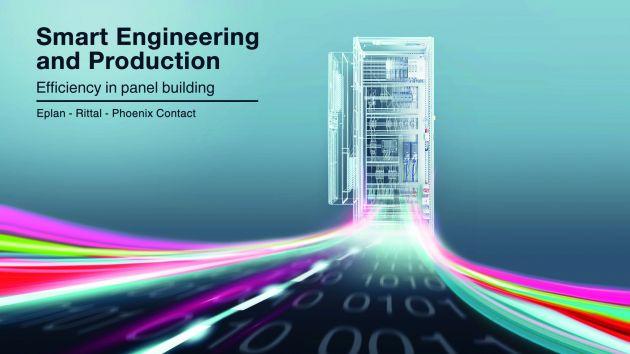 Bild 2   Die Technologie-Kooperation Smart Engineering and Production von Eplan, Rittal und Phoenix Contact bietet für jeden Prozessschritt ein umfassendes Lösungsprogramm.