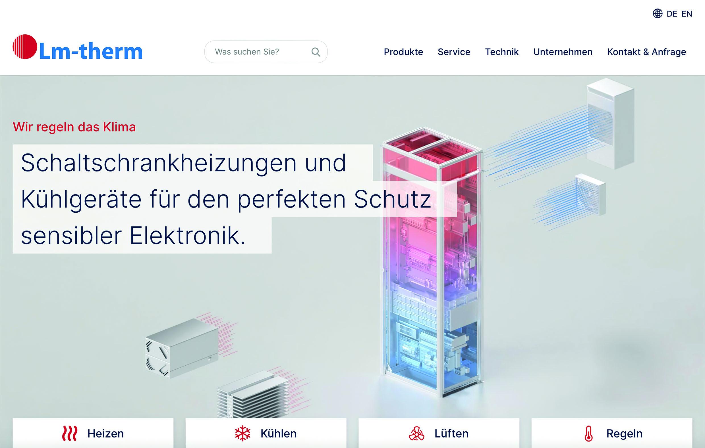 Lm-therm: neuer Online-Shop verfügbar