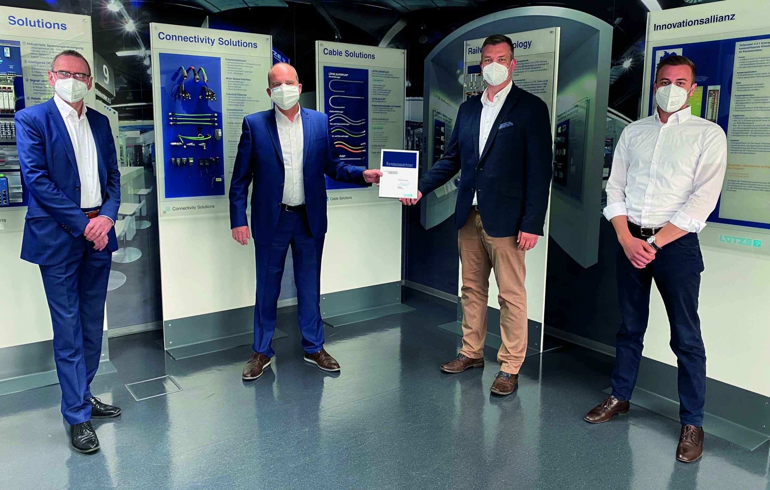 Kramer Industrieprodukte wird Lütze-Systempartner