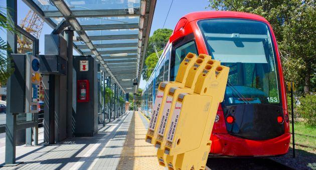 Blitzductorconnect schützt Automatisierungs- und informationstechnische Schnittstellen im Bereich der Bahninfrastruktur.
