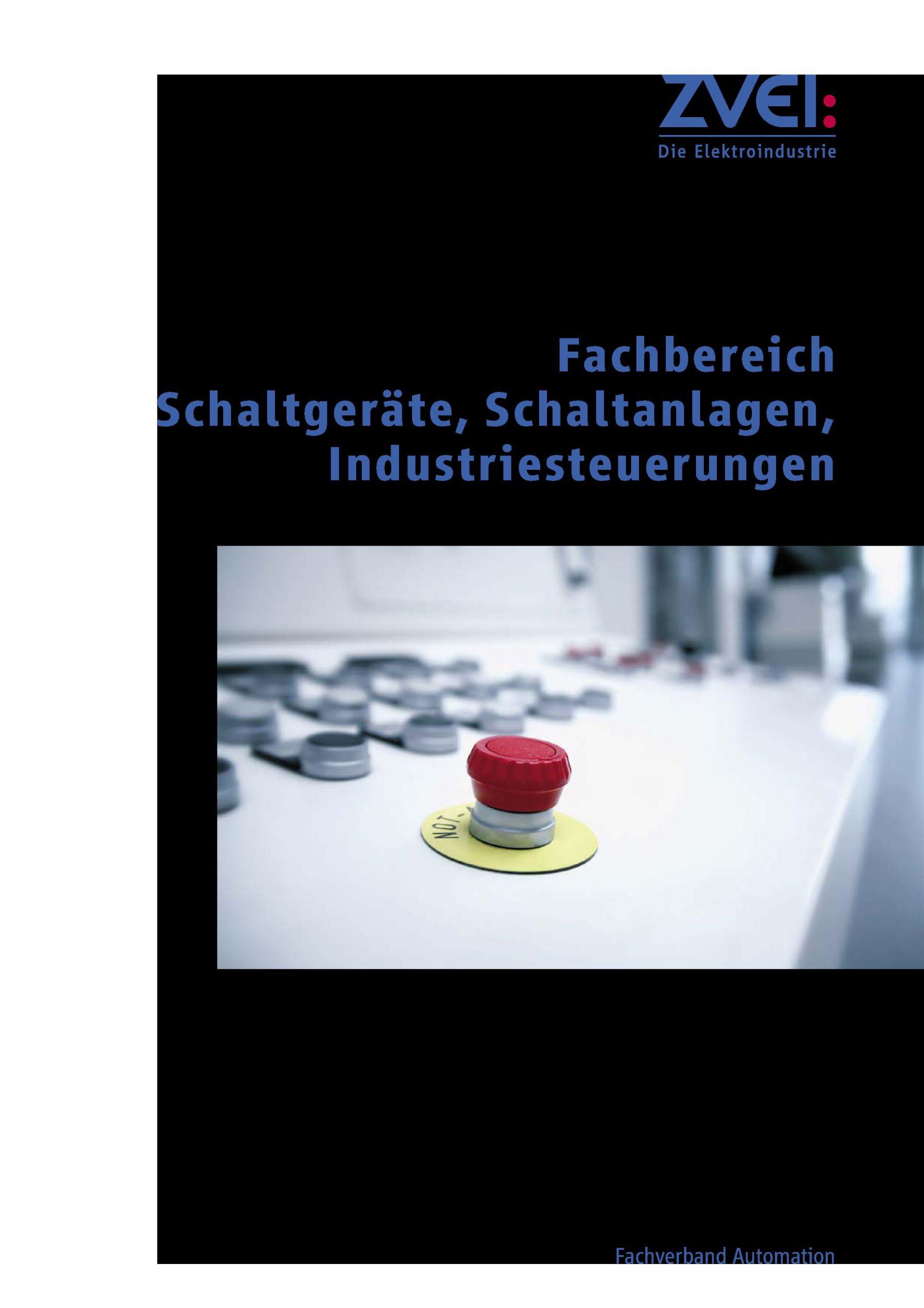 Broschüre Schaltgeräte, Schaltanlagen, Industriesteuerungen