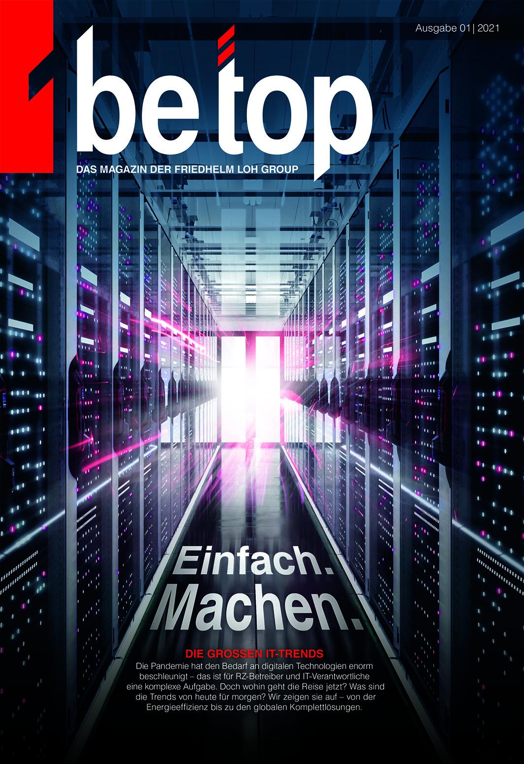 Neue Ausgabe von Be Top'