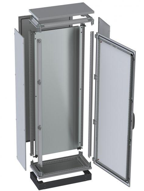 Bild 2 I Modulare Schaltschrankfertigung nach dem Baukastenprinzip mit variablen Bearbeitungs- und Ausbauoptionen