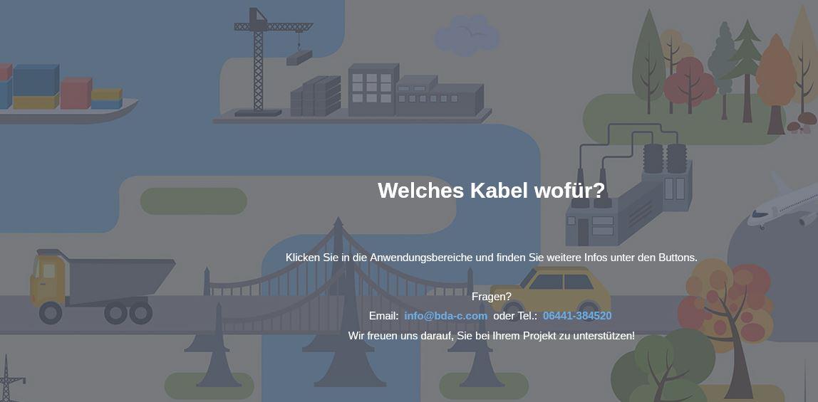 Online-Portal für die einfache Kabelsuche