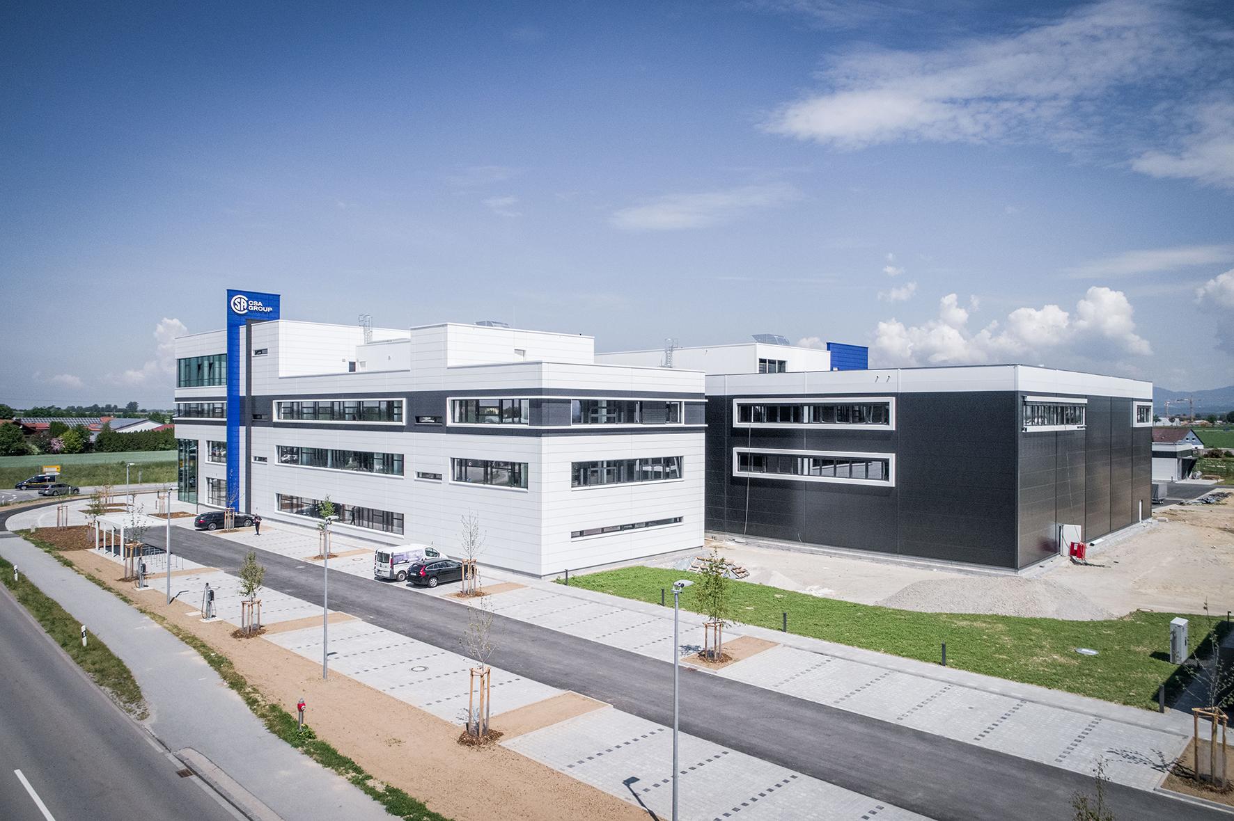 CSA eröffnet neue Europazentrale