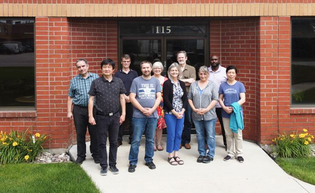 Das Team von Klippon Engineering in Markham, Ontario, bisher Emphatec.
