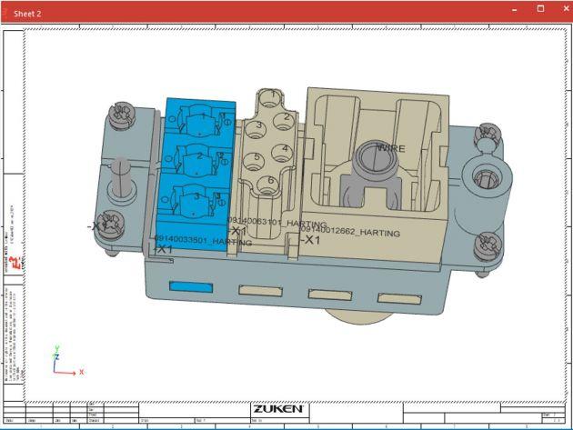 Bild 1 | Das Release 2021 der E3.series steigert die Anwendereffizienz durch erweiterte Funktionen im Bereich Steckerbearbeitung, 3D-Schaltschrankkonstruktion und Bauteil-Datenbank.