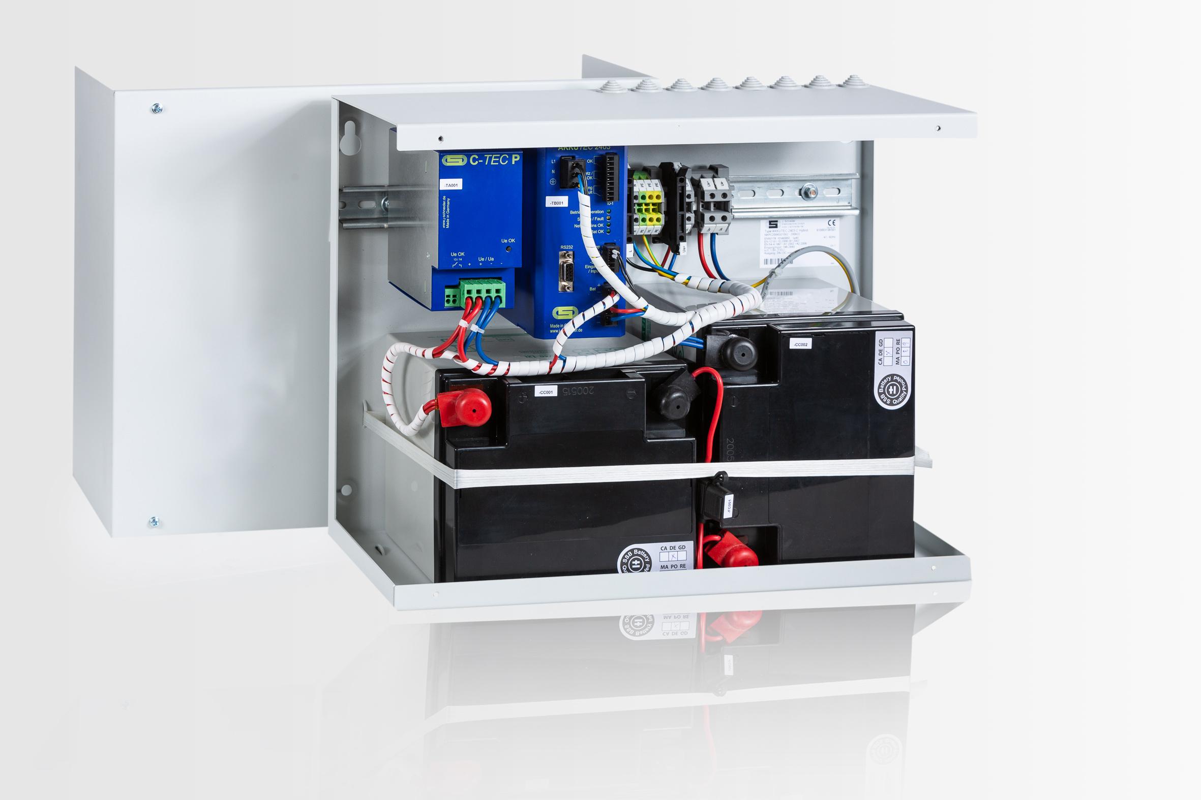 Hybrid-USV für verbesserte Batteriedimensionierung bei Langzeitpufferung