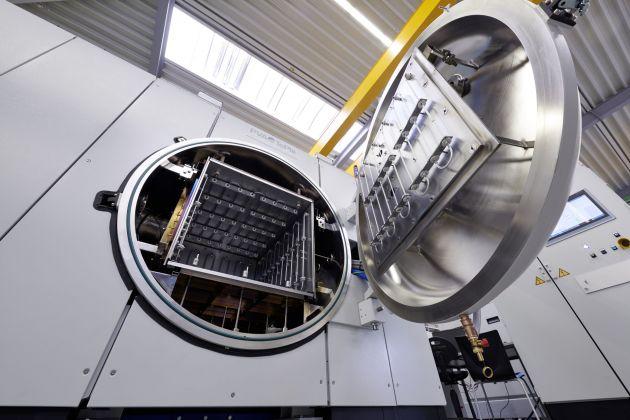 Bild 1 | Der MOV 743 von PVA Industrial Vacuum Systems ist ein Hochvakuumlötofen für Hart- und Hochtemperaturlötprozesse.