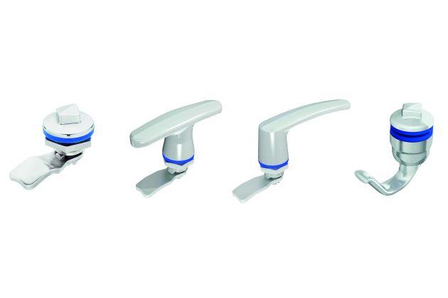 Bild 2   Die Produkte im Hygienic Design sind aus spiegelpoliertem Edelstahl gefertigt und verriegeln gemäß Schutzart IP69K.
