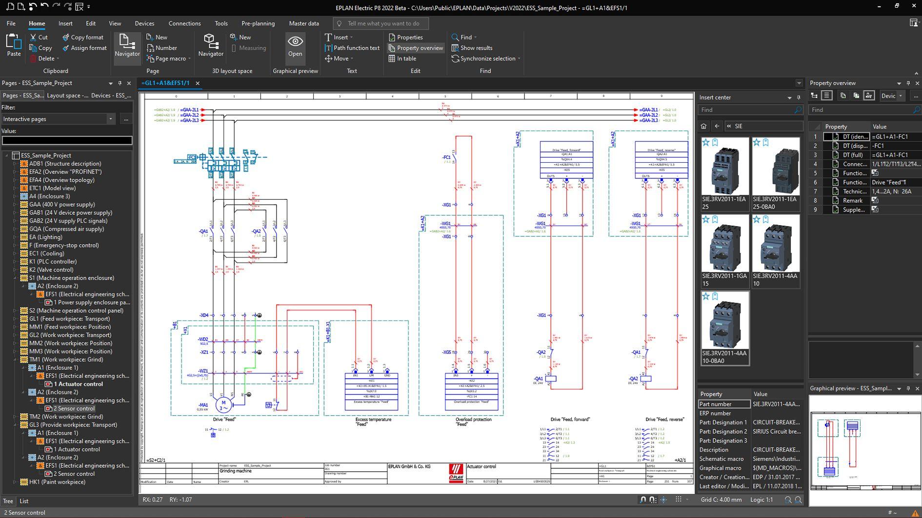 Eplan Plattform 2022 in neuem Oberflächen-Design