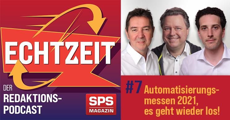 Echtzeit-Podcast: Automatisierungsmessen 2021