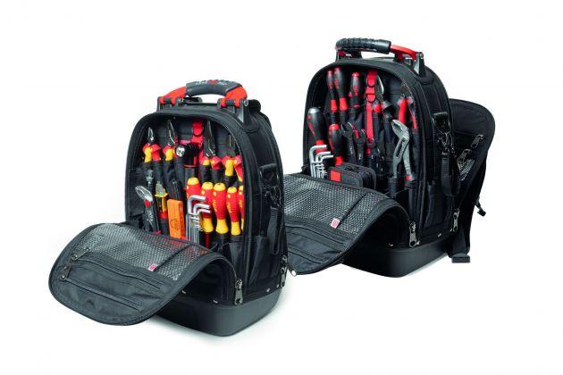 Die Wiha Rucksack Sets L electric und mechanic bieten Anwendern die optimale Grundausstattung und funktionale Unterstützung für die Herausforderungen des Alltags.