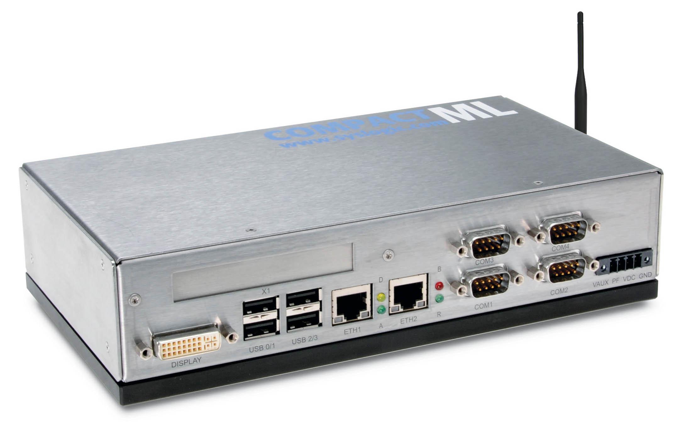 Embedded Computer und HMI-Systeme für die Industrie