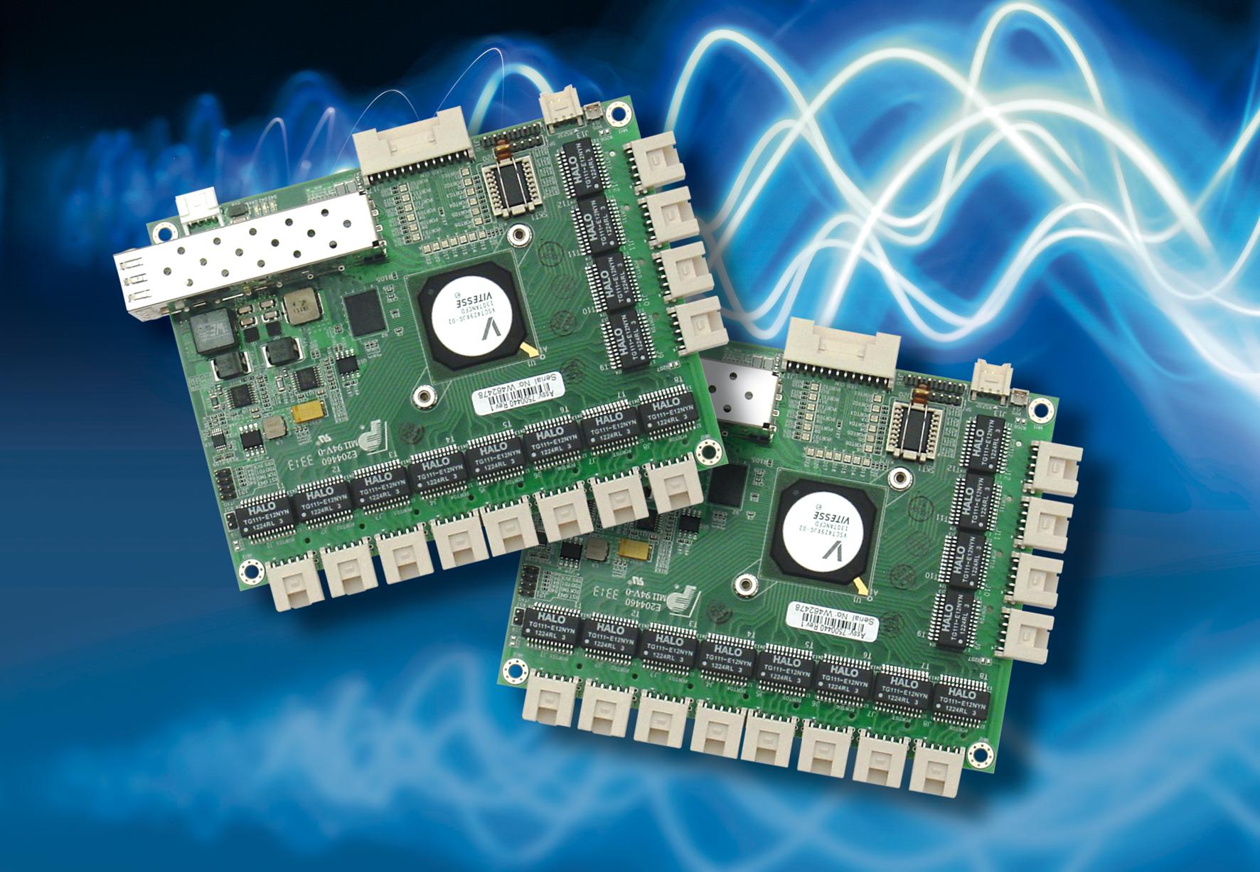 Gigabit-Ethernet Switch für harte Einsatzbedingungen