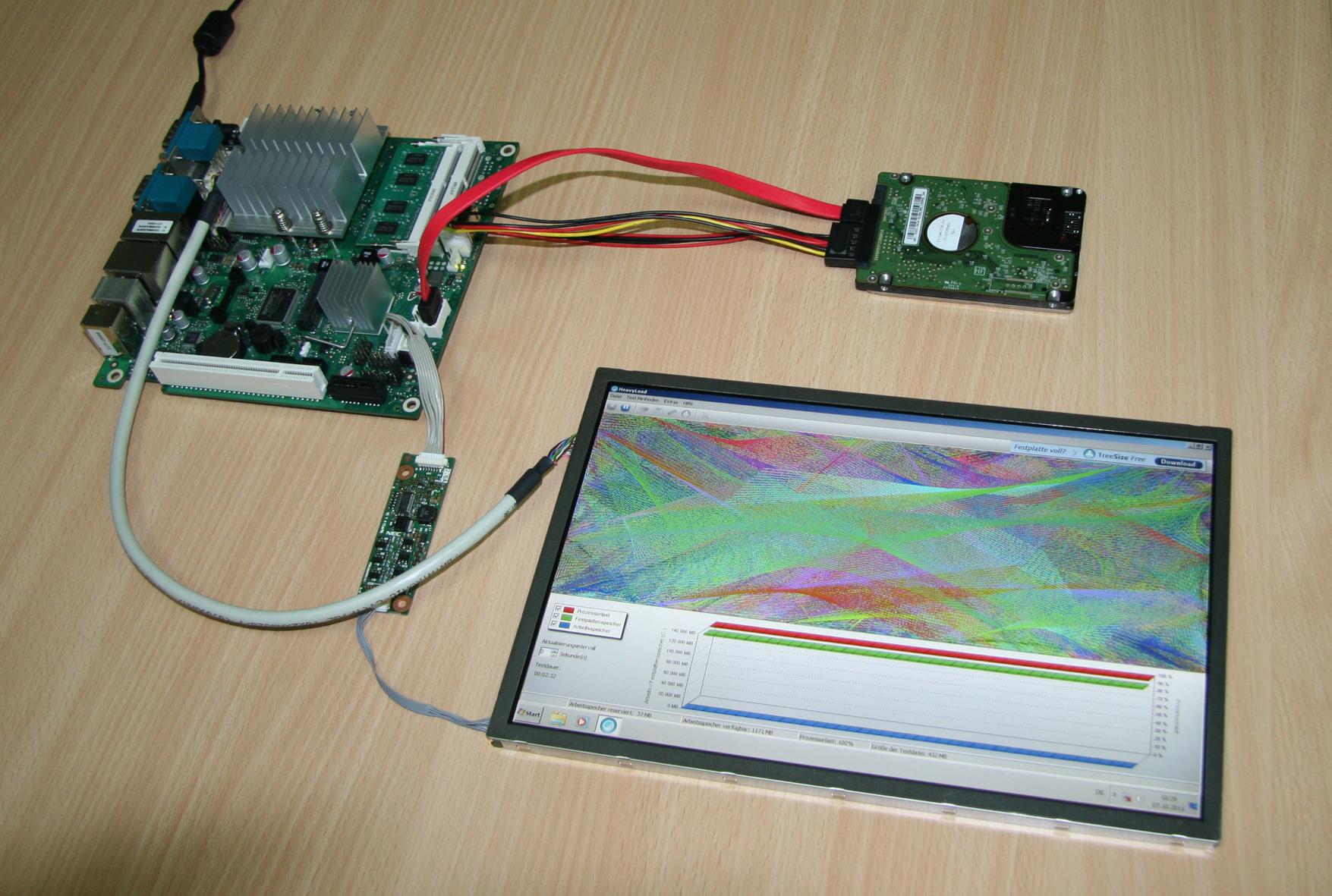 Board, Speicher und Display für Industrie 4.0