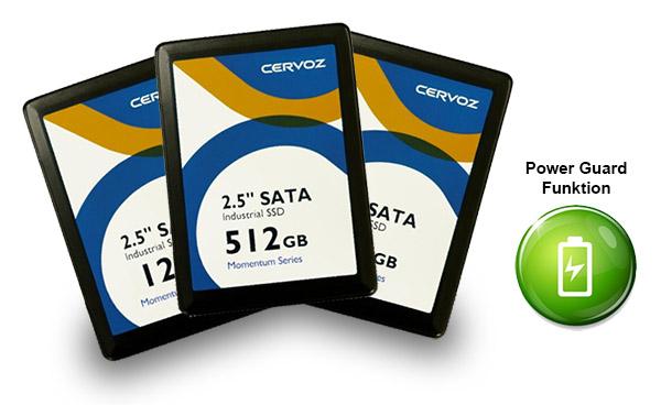 SSD mit integrierter 'USV'