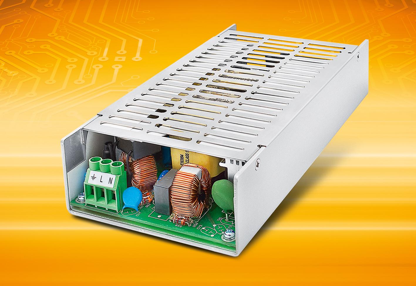 IPC-Netzteil bietet 4kV-Surge-Überspannungsschutz