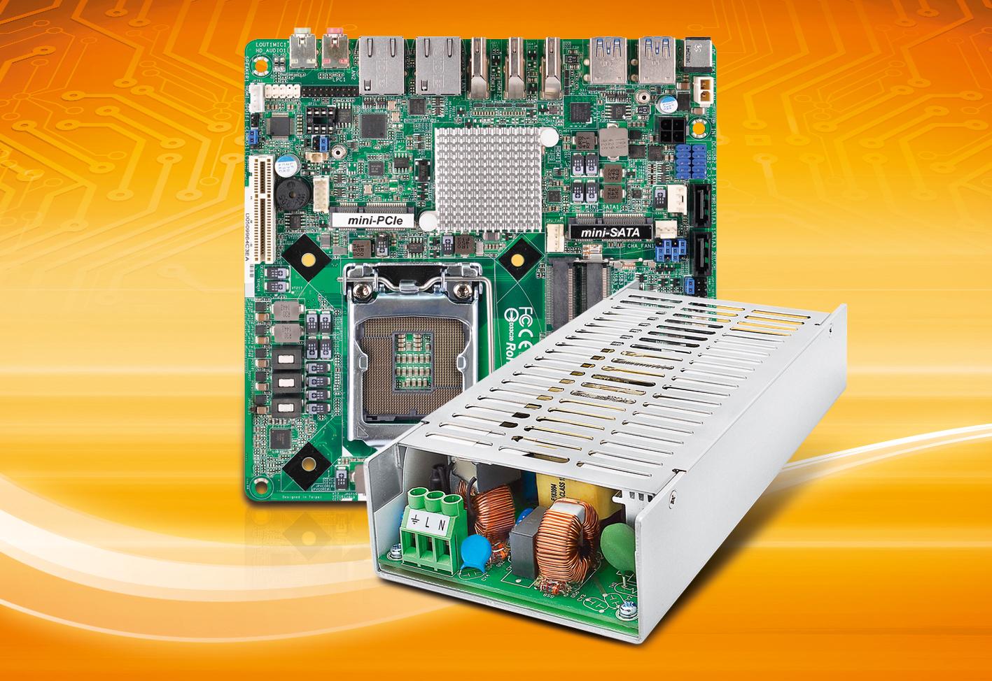 Power+Board-Bundles mit neuen Braswell und Skylake-Boards