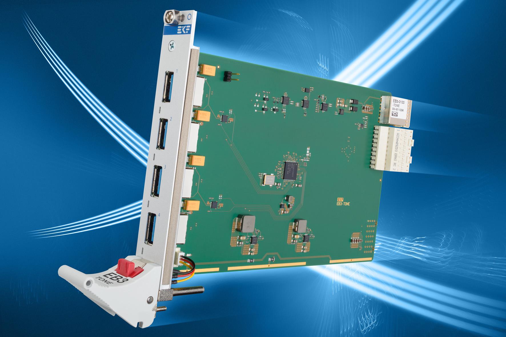 Einsteckkarte für CompactPCI-Express- und PXI-Express-Systeme