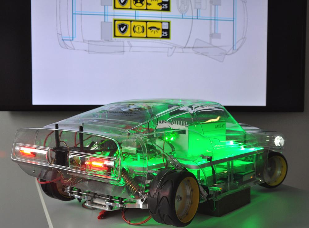 Ausfallsicheres Boardnetz für die Autos der Zukunft