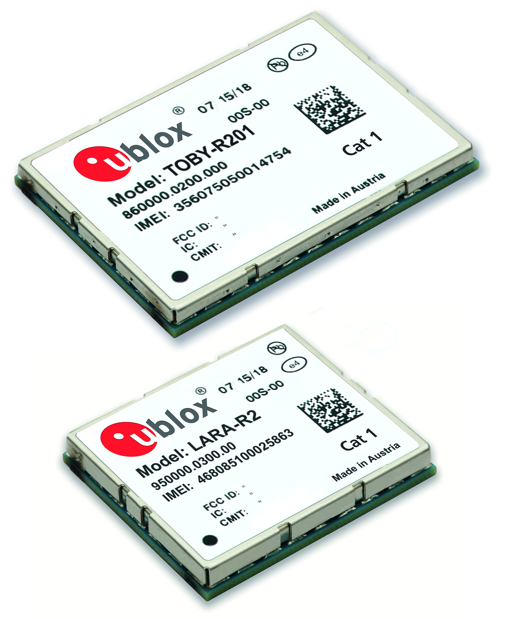 LTE-Module für M2M- und Automotive-Anwendungen