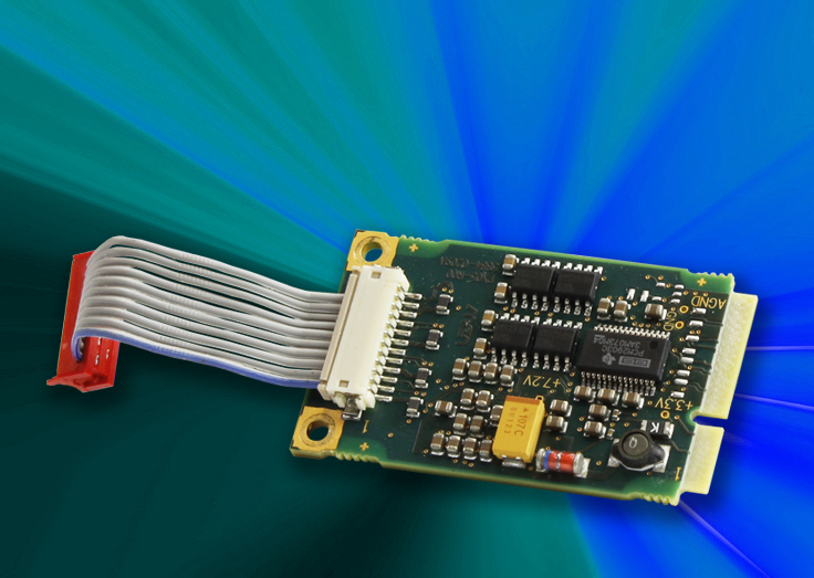 Stereo-Audio-Funktionalität auf PCI Express Mini Card