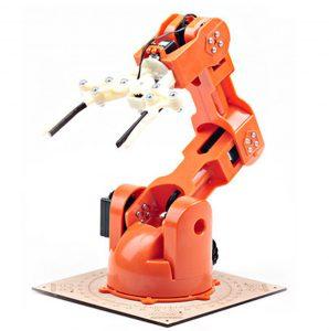 TinkerKit Braccio von RS bringt Robotik zu Arduino-Makern und -Entwicklern
