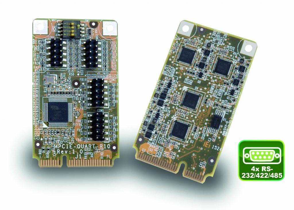 PCIe Mini Card für Mess- und Automatisierungstechnik