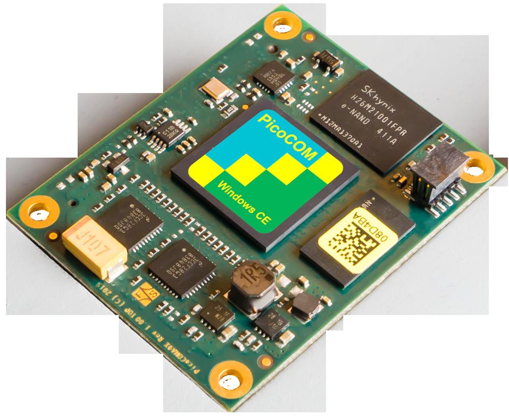 Kleines COM-Modul mit NXP i.MX 6SoloX