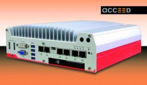Flacher Box-PC mit 6 GigE-Ports