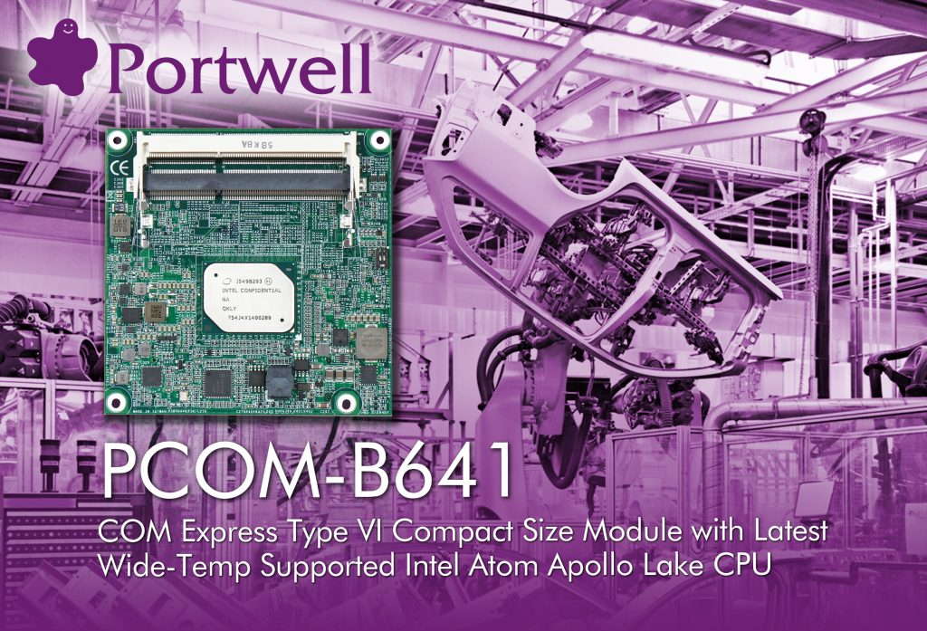 COM-Express Type 6 Modul mit Intel Atom E3900 Prozessor