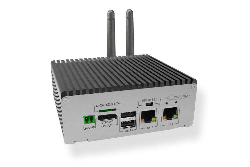Technagon stellt eNUC Box-PC mit SMARC 2.0 Modulen vor