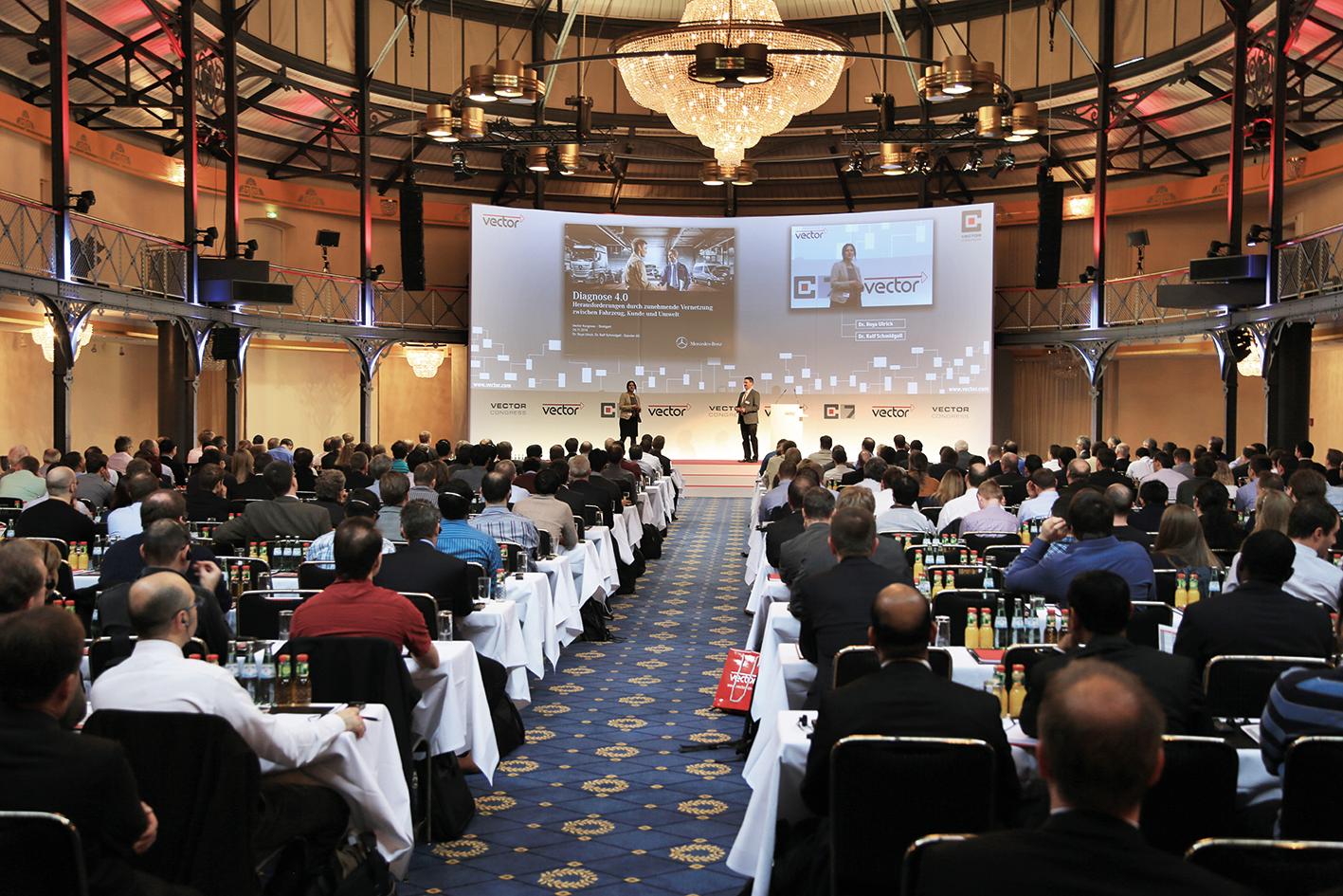 8. Vector Congress mit Trends und Praxistipps zur Automobil-Elektronikentwicklung