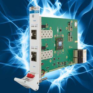 CompactPCI Serial: Dual-Port SFP+ 10Gbps Ethernet NIC