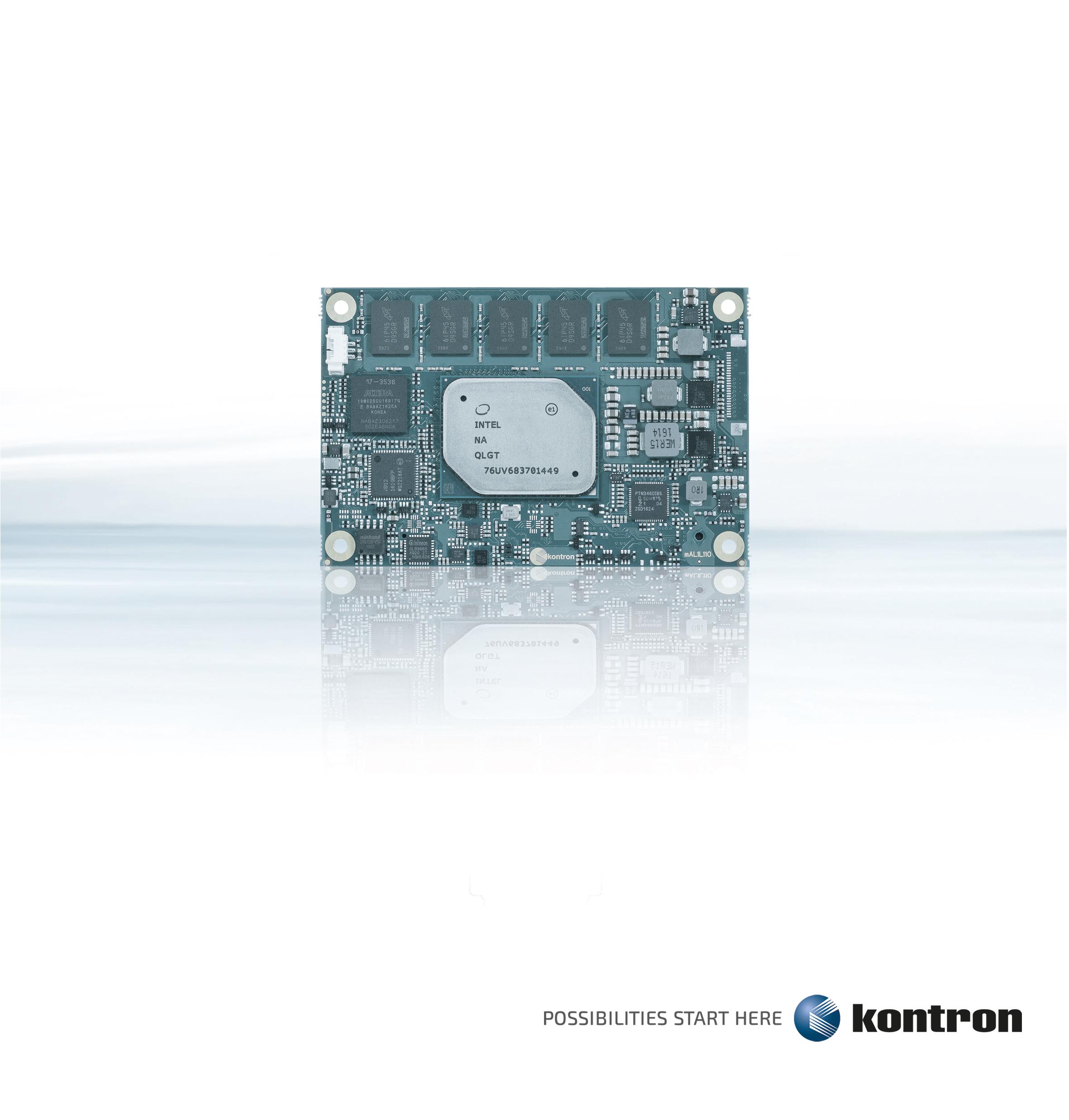 b-plus auf der electronica: Kontrons neue COM Express mini-Serie